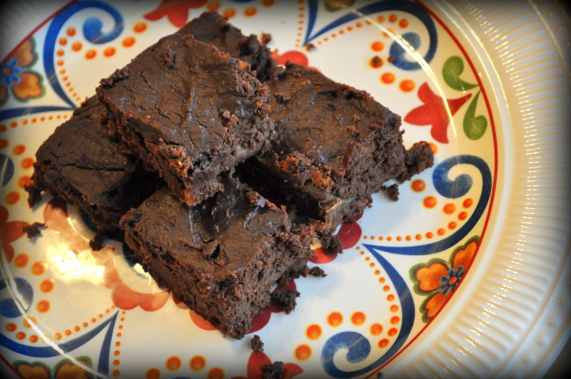 Primal Pumpkin Flourless brownies