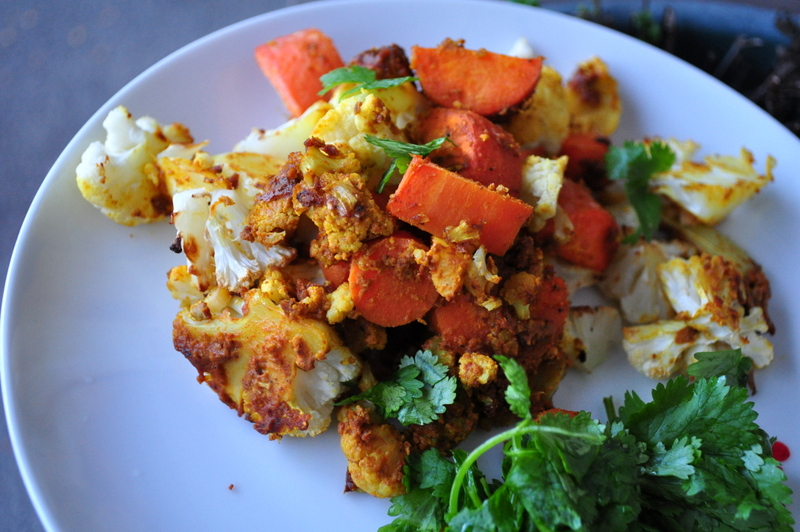 Sunflower Curried Cauliflower