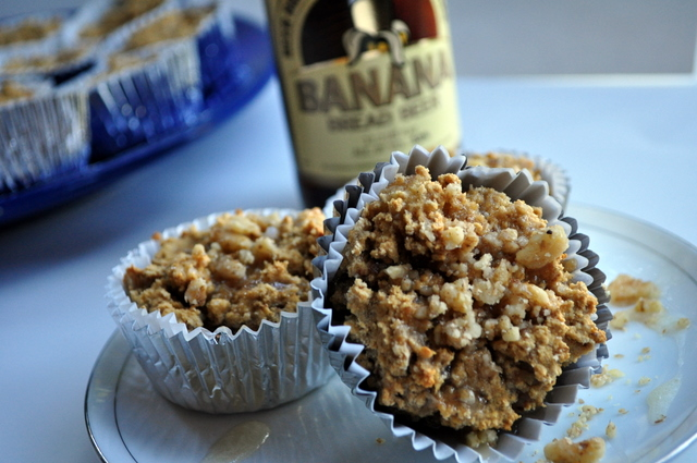 Banana Bread Beer Cupcakes