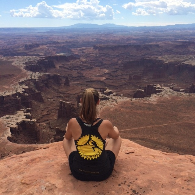 Hiking in Canyonlands National Park, Utah