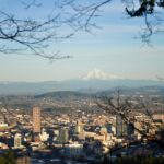 Portland from Pittock Mansion - whatrunslori.com