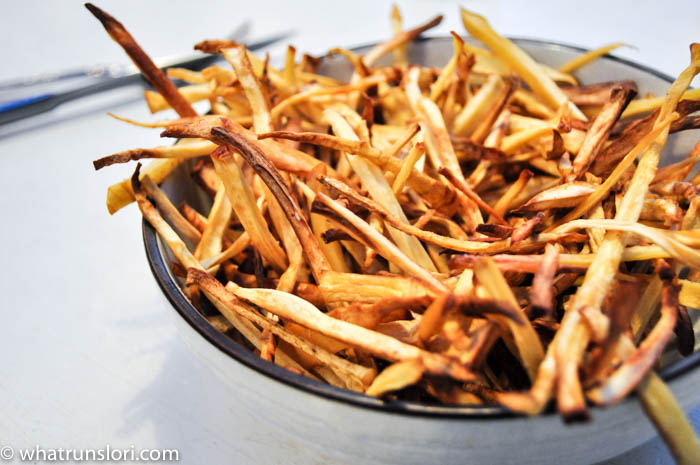 Paleo Parsnip Fries at whatrunslori.com